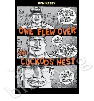 a literary analysis of the main character in one flew over the cuckoos nest by ken kesey