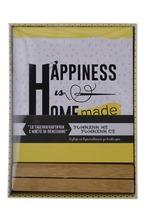 Кутийка с 18 табелки/картички – Home, Sweet Home