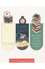 Магнитен книгоразделител мини - Време за четене