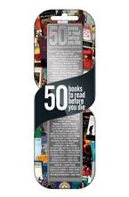 """Метален разделител """"50 книги"""""""