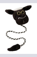 Плюшен книгоразделител с опашка - Овца