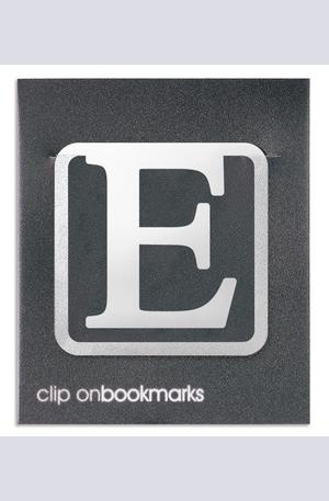 """Продукт - Метален разделител буква """"E"""""""