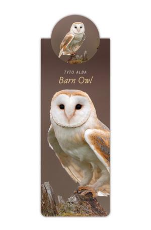Продукт - Разделител за книга с диви животни - Бухал