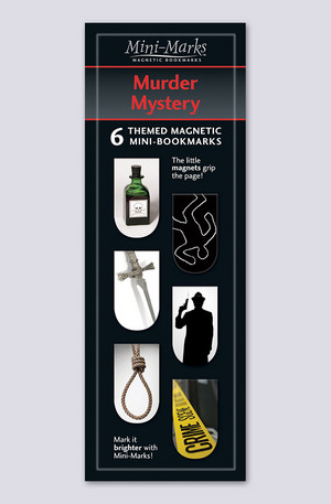 Продукт - Мини отметки за книги - Murder and mistery