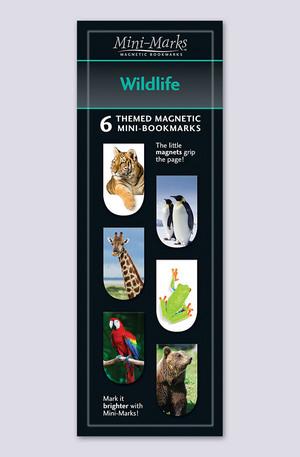 Продукт - Мини отметки за книги - Wildlife