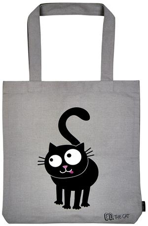 Продукт - Чанта за пазаруване - Ed The Cat - Котка като мен