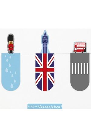 Продукт - Магнитен книгоразделител мини – Лондон
