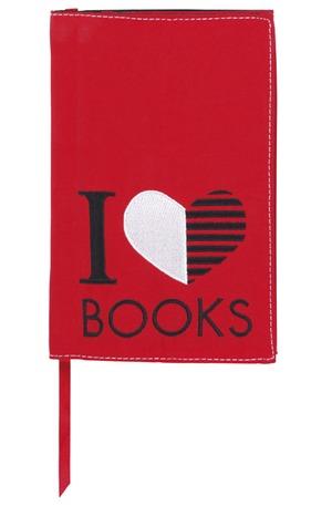 Продукт - Подвързия за книги - I love Books L
