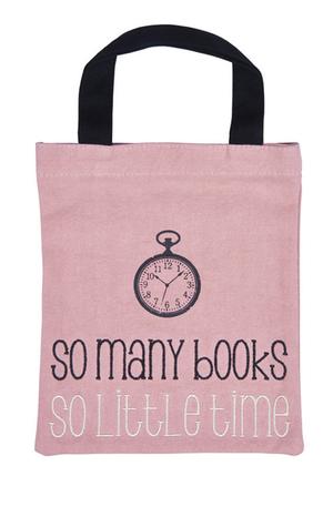 Продукт - Чанта за книги от плат - So many books
