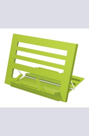Продукт - Цветна поставка за книга - Зелена