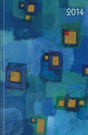Книга - Календар бележник Harmonie in Blau 2014