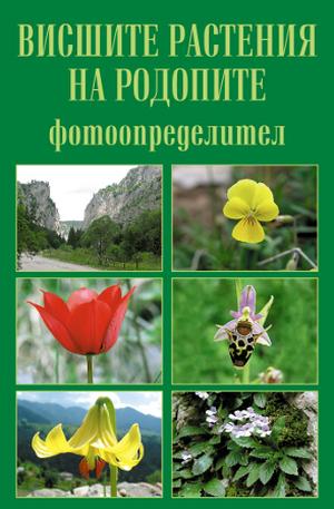 Книга - Висшите растения на Родопите - фотоопределител