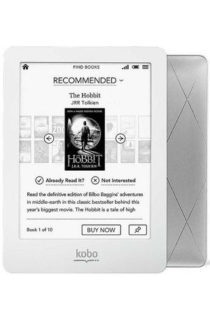 електронен четец - Kobo Glo бял със сив гръб