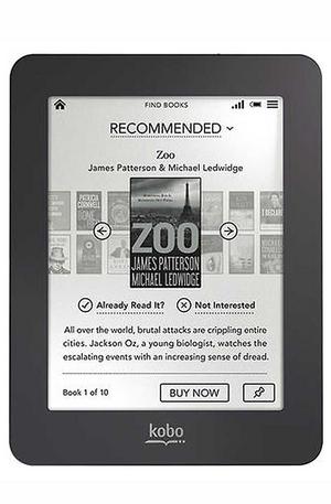 електронен четец - Kobo Mini - черен