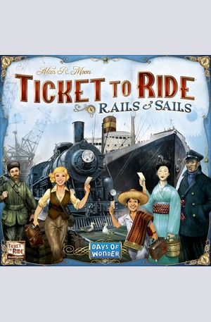 Продукт - Ticket to Ride - Rails and Sails