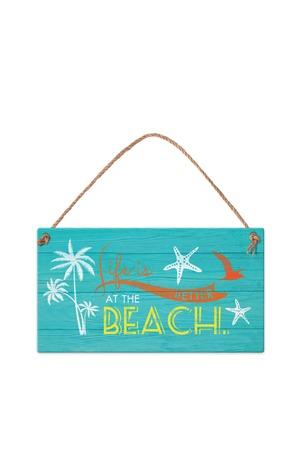 Продукт - Табелка - Life is better at the beach