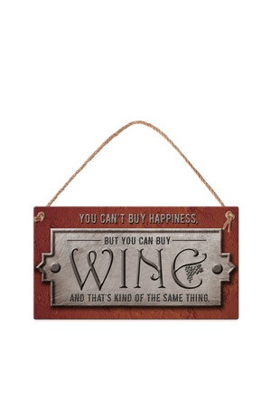 Продукт - Табелка - You can't buy happiness, but you can buy wine...