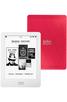 електронен четец - Kobo Glo бял с розов гръб
