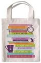 Чанта за книги от плат - Read me
