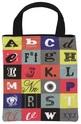 Чанта за книги от плат - Азбука