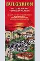 Bulgarien illustrierte touristenkarte