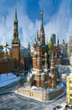 Saint Basil`s Cathedral, Moscow - 1500