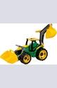 Трактор със задно гребло