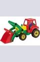 Цветен трактор